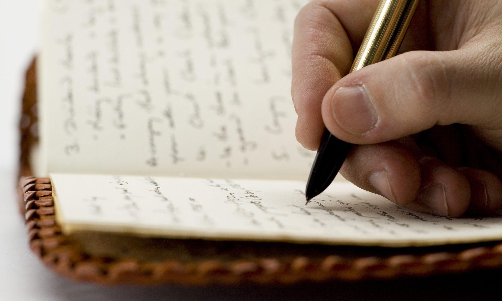 Schreibutensilien fürs Selbstvertrauen
